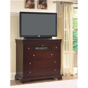 New Classic Versailles  Media Chest