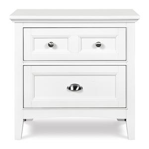 Next Generation by Magnussen Hayden White Drawer Nightstand