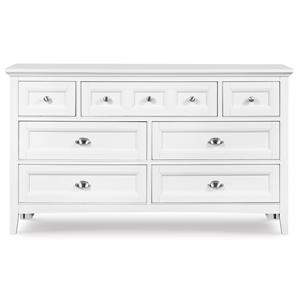 Next Generation by Magnussen Hayden White Drawer Dresser