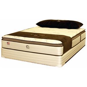Noahs Manufacturing Sereni-Sleep Deluxe 2100 Twin Pillow Top Mattress
