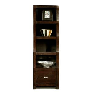 Oak Furniture West Cubic Wall Open Bookcase