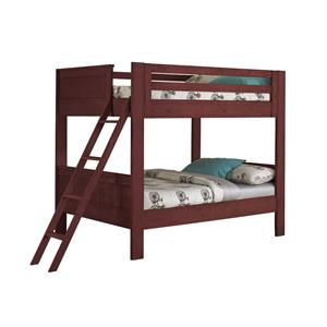 Morris Home Furnishings Frisco Frisco Twin Bunk Bed with Ladder
