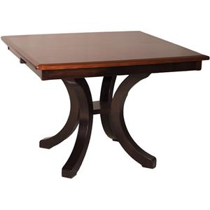 Oakwood Industries Casual Dining Bellevue Single Pedestal Dining Table