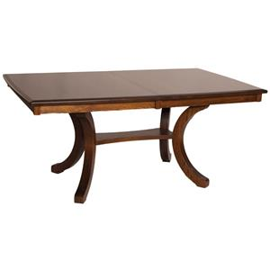 Oakwood Industries Casual Dining Bellevue Counter Height Rectangular Table