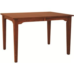 Oakwood Industries Casual Dining Mission Gathering Table