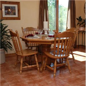 Oakwood Industries Casual Dining 5 Piece Dining Set