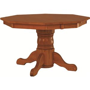 "Oakwood Industries Casual Dining 48"" Octagon Table"