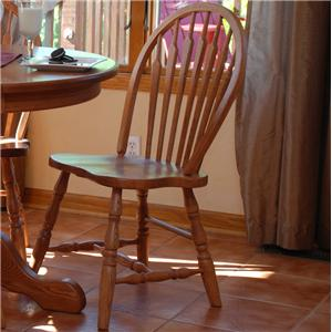 Oakwood Industries Casual Dining Bow Arrow Side Chair
