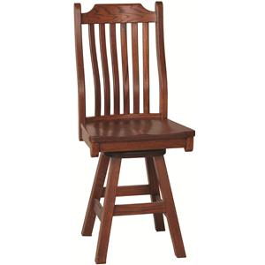 Oakwood Industries Casual Dining Mission Bar Stool
