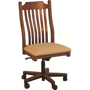 Oakwood Industries Casual Dining Mission Gas Lift Side Chair