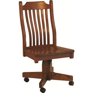 Oakwood Industries Casual Dining Mission Roller Side Chair