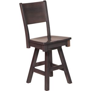 Oakwood Industries Casual Dining Sonata Side Counter Height Chair
