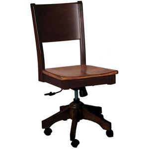 Oakwood Industries Casual Dining Sonata Roller Side Chair