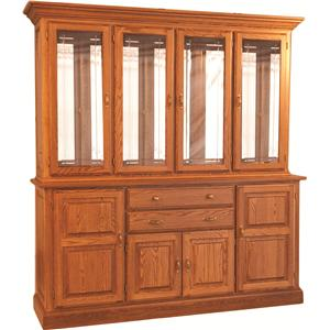 Oakwood Industries Casual Dining Town and Country China Hutch