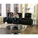Palliser Media Contemporary 3-Seater Power Reclining Home Theater Sectional