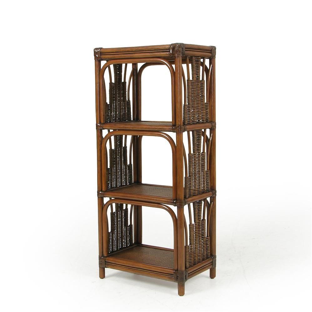 Small Wicker Etagere - Small Wicker Etagere By Palm Springs Rattan Wolf And  Gardiner - Rattan Bookcase Reloc Homes