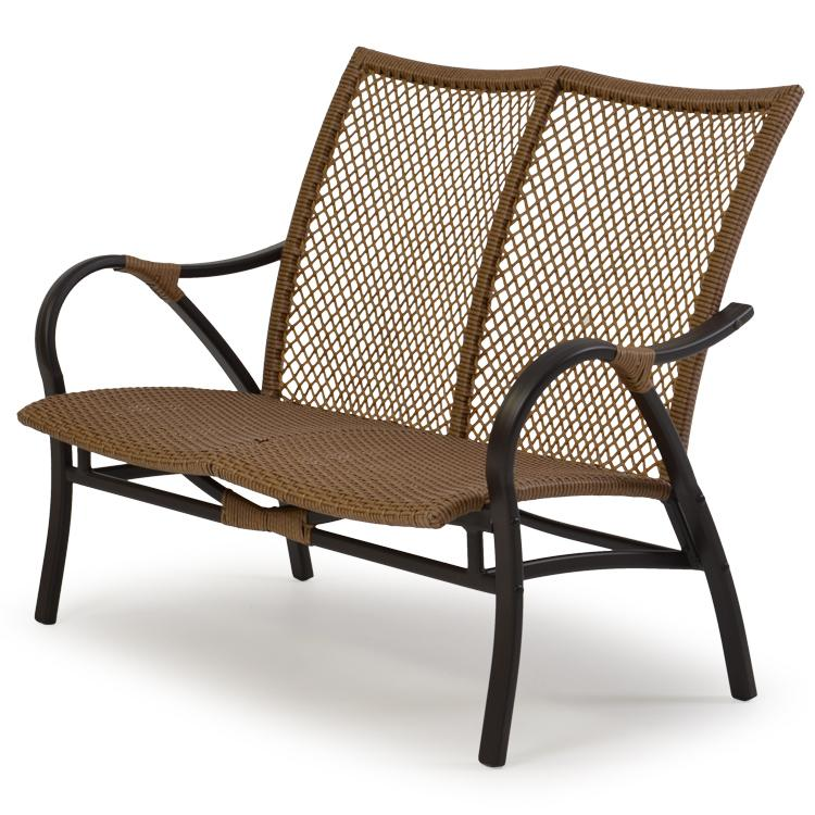 Outdoor Wicker Loveseat - Outdoor Wicker Loveseat By Palm Springs Rattan Wolf And Gardiner