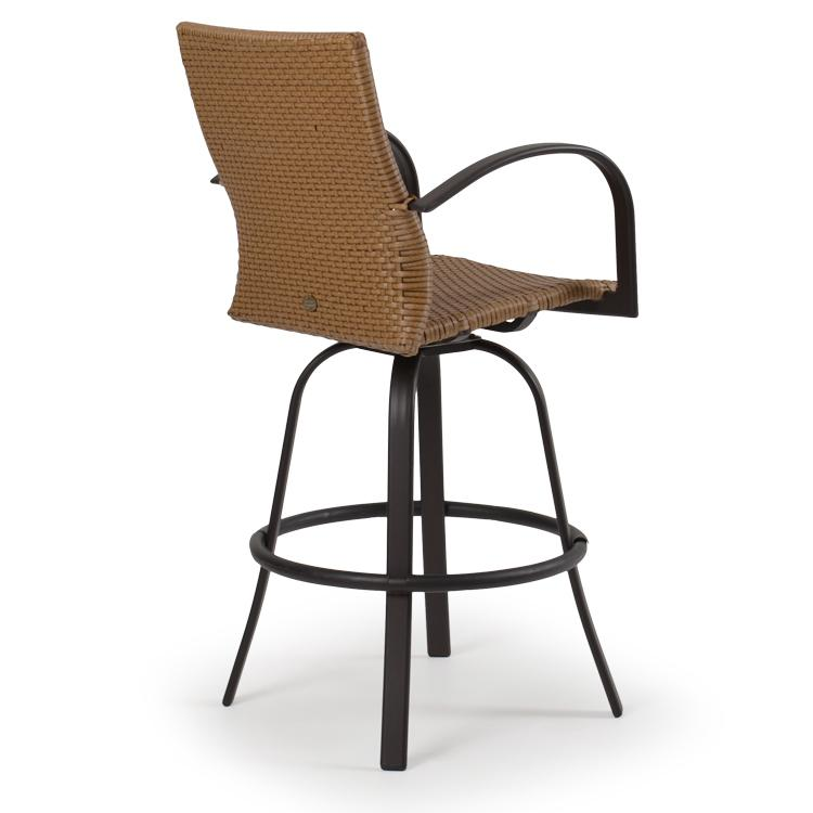 Swivel Barstool By Palm Springs Rattan Wolf And Gardiner