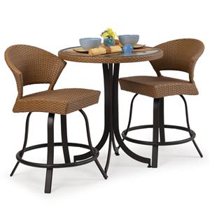3 Pc. Counter Height Dining Set