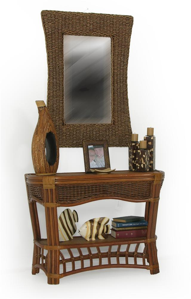 Sofa Console Table By Palm Springs Rattan Wolf And Gardiner Wolf Furniture
