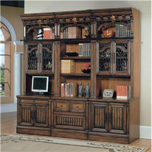 Parker House Barcelona 6 Piece Computer Bookcase