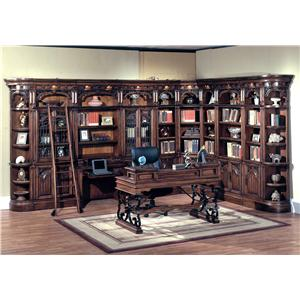 Parker House Barcelona Large Home Office Bookcase Unit