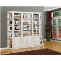Parker House Boca Five-Piece Library Wall Unit - Item Number: BOC-430+2x420+2x450