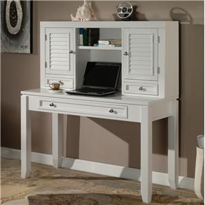 "Parker House Boca 47"" Writing Desk and Hutch"