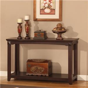 Parker House Auburn Occasional Tables Auburn Sofa / TV Console Table