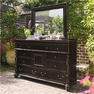 Paula Deen by Universal Paula Deen Home Door Dresser & Mirror
