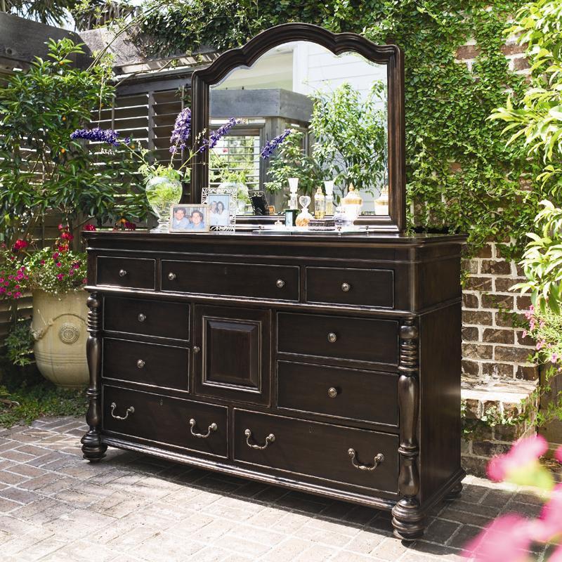 door dresser with 9 drawers by paula deen by universal - Paula Deen Bedroom Furniture