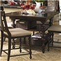 Paula Deen by Universal Paula Deen Home Kitchen Gathering Table - Item Number: 932652-BASE+TAB