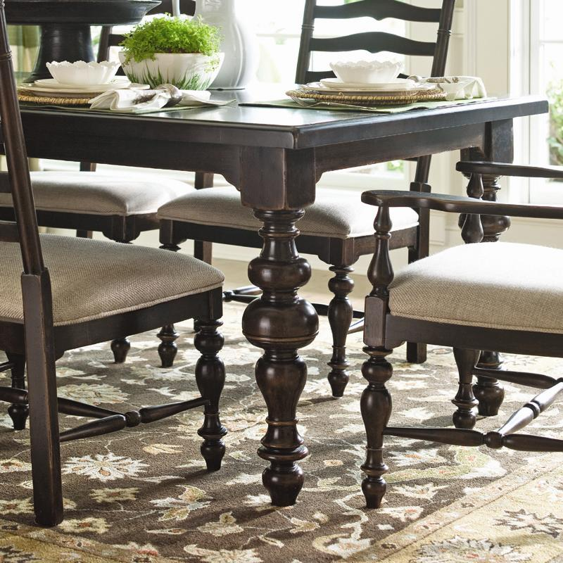Paula\'s Rectangular Leg Table by Paula Deen by Universal | Wolf ...