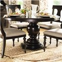 Paula Deen by Universal Paula Deen Home Round Pedestal Table - Item Number: 932655-BASE+TAB