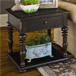 Paula Deen by Universal Paula Deen Home Rectangular End Table