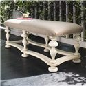 Paula Deen by Universal Paula Deen Home Bed End Bench - Item Number: 996380