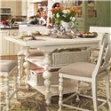 Paula Deen by Universal Paula Deen Home Kitchen Gathering Table - Item Number: 996652-BASE+TAB