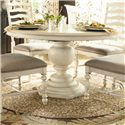 Paula Deen by Universal Paula Deen Home Round Pedestal Table - Item Number: 996655-BASE+TAB