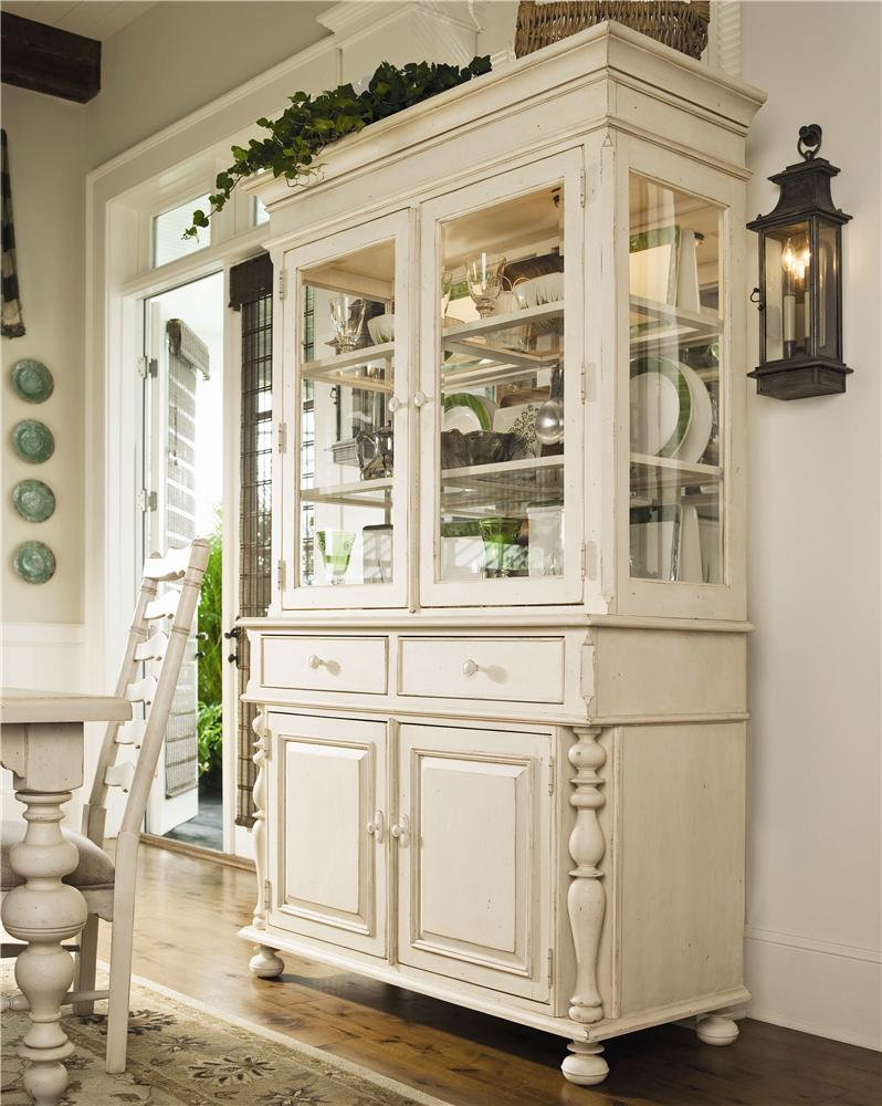 Buffet & Hutch China Cabinet by Paula Deen by Universal | Wolf and ...