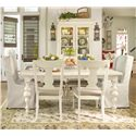 Universal Home Buffet & Hutch China Cabinet - Shown with table set