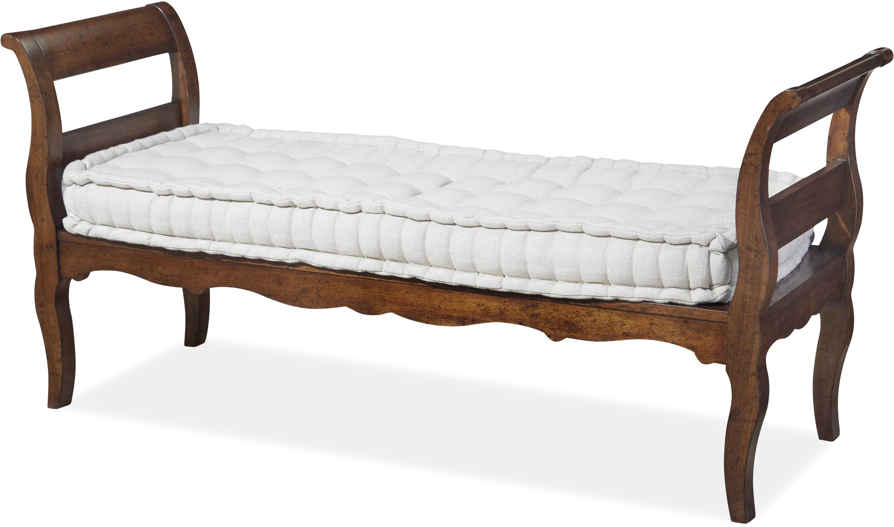 Bed End Bench With Tufted Seat By Paula Deen By Universal