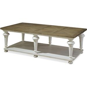 Paula Deen by Universal Dogwood Cocktail Table