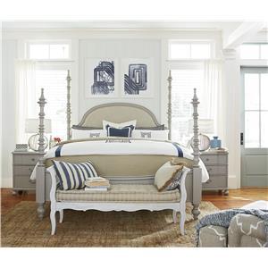 Paula Deen by Universal Dogwood Queen Bedroom Group