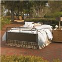 Universal Down Home Queen Garden Gate Bed - Shown with Nightstand
