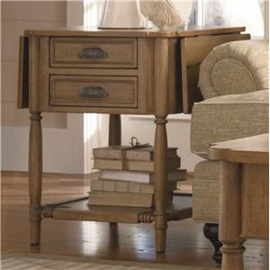 Paula Deen by Universal Down Home Drop Leaf End Table