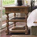 Universal Down Home Drawer End Table with 1 Drawer