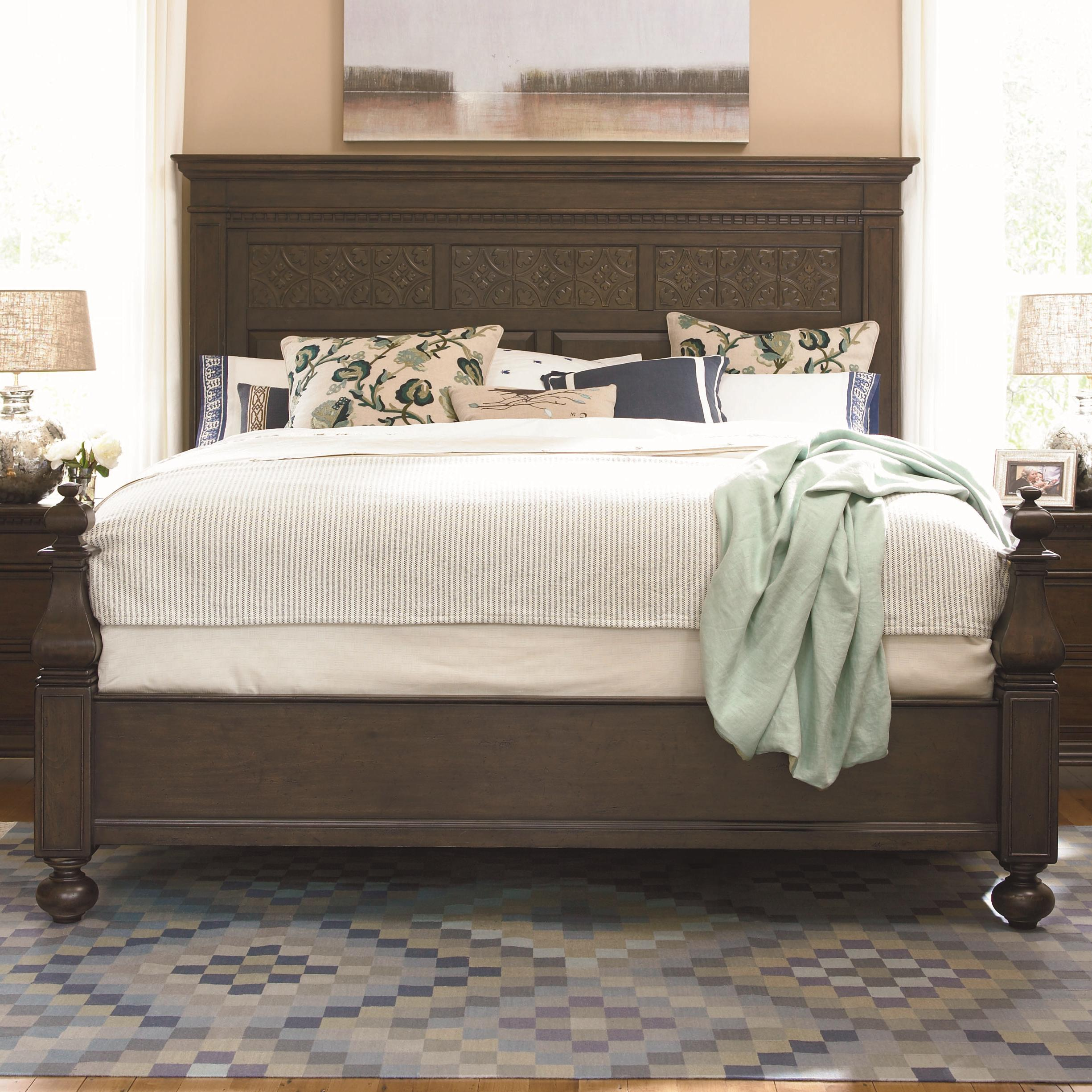Queen Aunt Peggy\'s Bed with Headboard and Footboard by Paula Deen ...