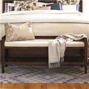 Morris Home Furnishings Pine Bluff Pine Bluff Bed Bench