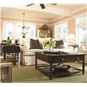 Universal Down Home Visitin' Table with Lift Top - Shown with Lemonade Stand and Drop Leaf End Table