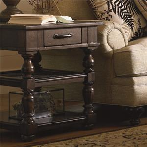 Morris Home Furnishings Pine Bluff Pine Bluff End Table